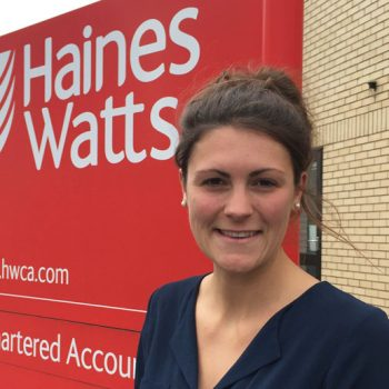 Amy Houlford of Haines Watts South West | Business Action | North Devon business news