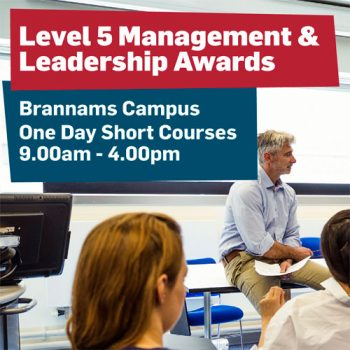 Level 5 Management & Leadership Awards | Petroc | Business Action