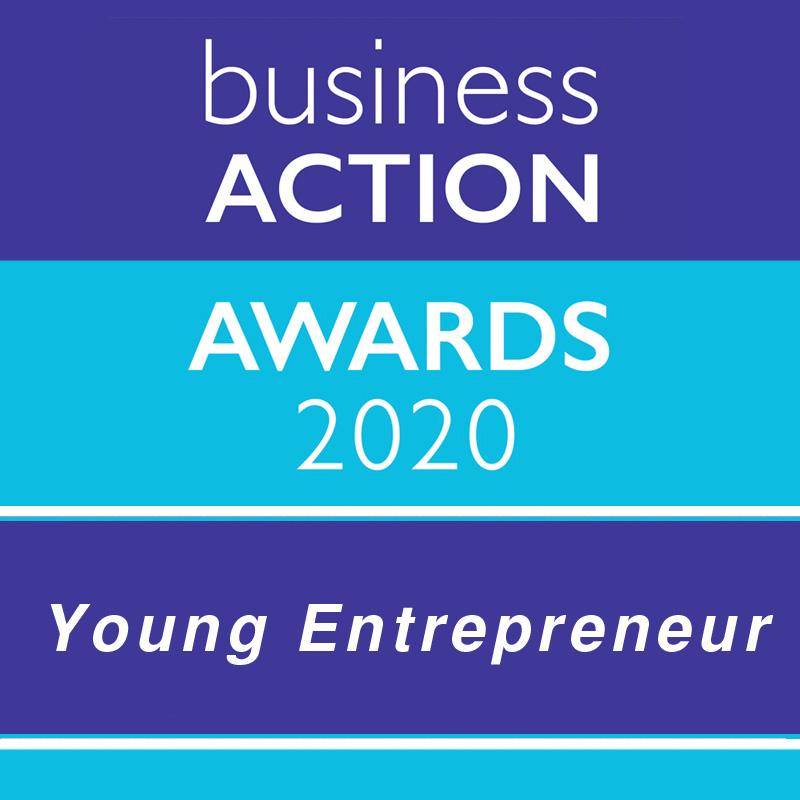 Business Action Awards 2020 | North Devon's independent business awards | Young Entrepreneur Award