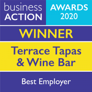 Terrace Tapas and Wine Bar | Business Action Best Employer Award Winner 2020 | North Devon Business Awards