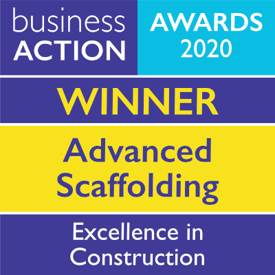 Advanced Scaffolding | Excellence in Construction Award 2020 winner | Business Action | independent North Devon business magazine | North Devon business news