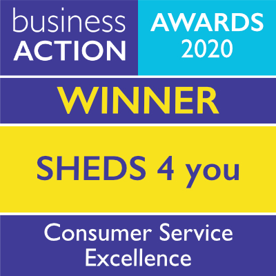 SHEDS 4 you | Consumer Service Excellence Award 2020 winner | Business Action | North Devon Business Awards