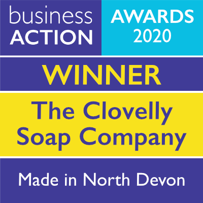 The Clovelly Soap Company | Made in North Devon Award 2020 Winner | Business Action | independent North Devon business magazine | North Devon business news