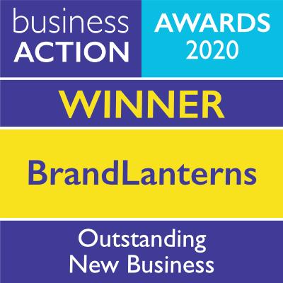 BrandLanterns | Outstanding New Business Award 2020 Winner | Business Action | independent North Devon business magazine | North Devon business news