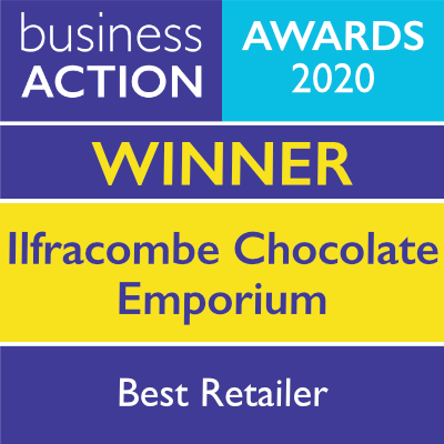 Ilfracombe Chocolate Emporium | North Devon Business Awards Best Retailer 2020 Winner | Business Action | independent North Devon business magazine | North Devon business news