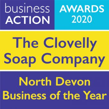 The Clovelly Soap Company | North Devon Business of the Year 2020 | Business Action | independent North Devon business magazine | North Devon business news