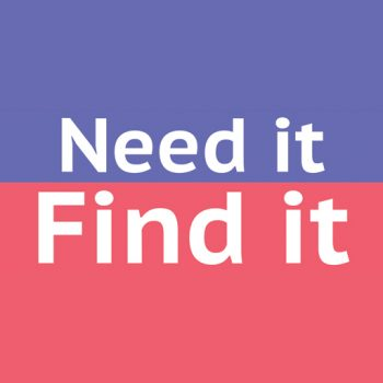 Need it Find it   Business Action