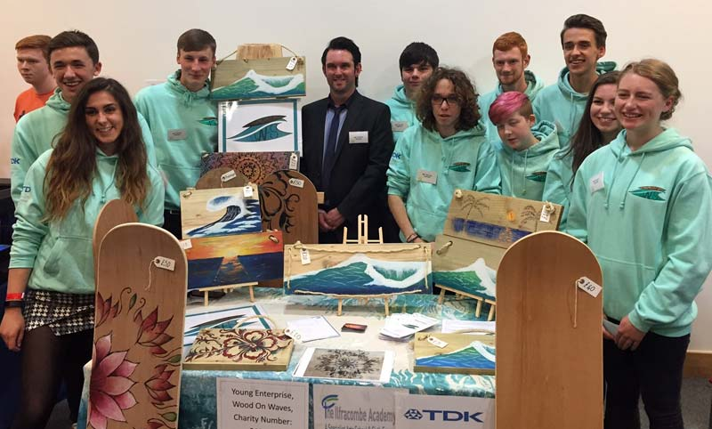 TDK-Lambda & Ilfracombe Academy Young Enterprise Team | Business Action | North Devon business news