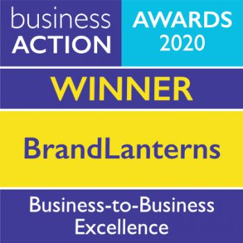 BrandLanterns   Business-to-Business Excellence Award 2020 Winner   Business Action   independent North Devon business magazine   North Devon business news