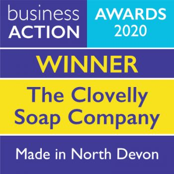 The Clovelly Soap Company   Made in North Devon Award 2020 Winner   Business Action   independent North Devon business magazine   North Devon business news
