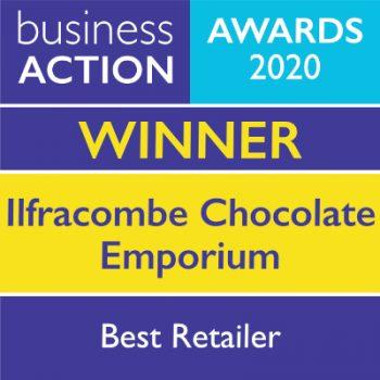 Ilfracombe Chocolate Emporium   North Devon Business Awards Best Retailer 2020 Winner   Business Action   independent North Devon business magazine   North Devon business news
