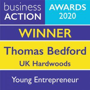 Young Entrepreneur Award 2020 Winner