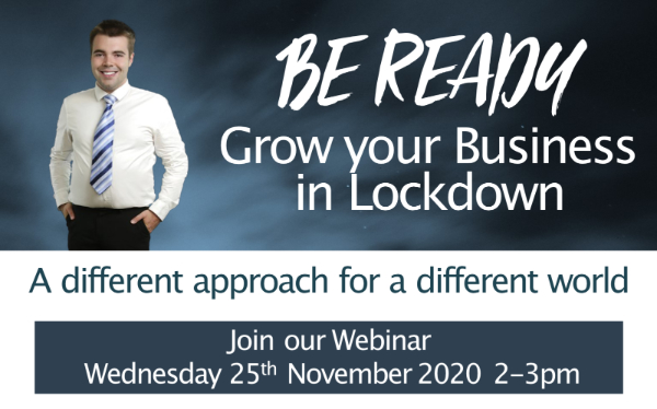 Be Ready Employer Hub | Grow your business in lockdown webinar | Business Action