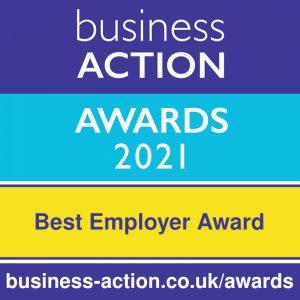 Business Action Awards 2021 | North Devon's independent business awards | Best Employer Award