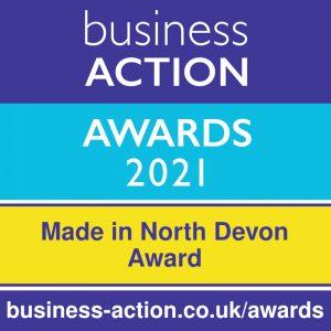 Business Action Awards 2021   North Devon's independent business awards   Made in North Devon Award