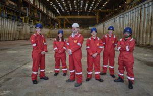 Harland & Wolff Appledore new apprentices   Business Action   North Devon business magazine   North Devon business news