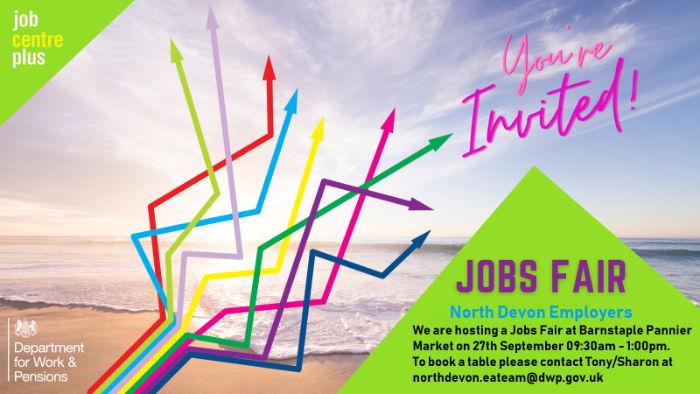 Barnstaple Jobs Fair | Jobcentre Plus | Business Action | North Devonn business magazine | North Devon business news